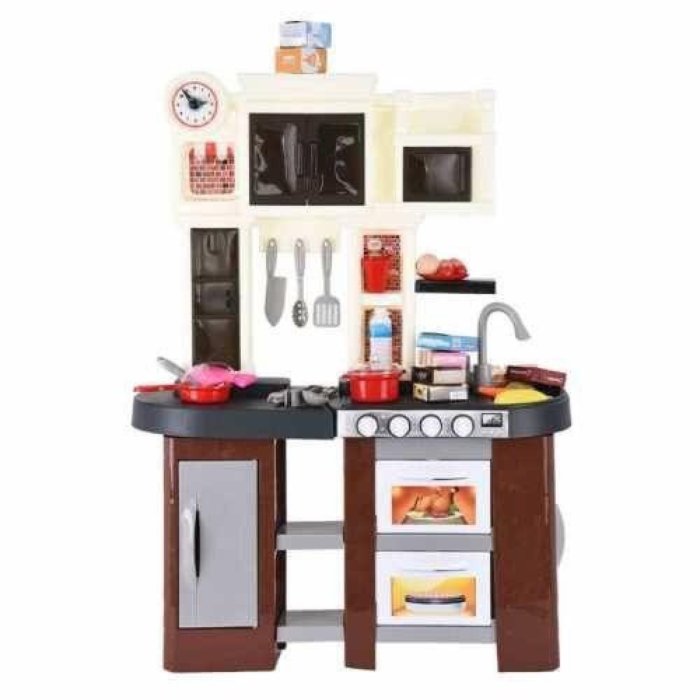 مجموعة ألعاب مطبخ للأطفال  لعبة مغسلة المطبخ للأطفال مطبخ اطفال حقيقي