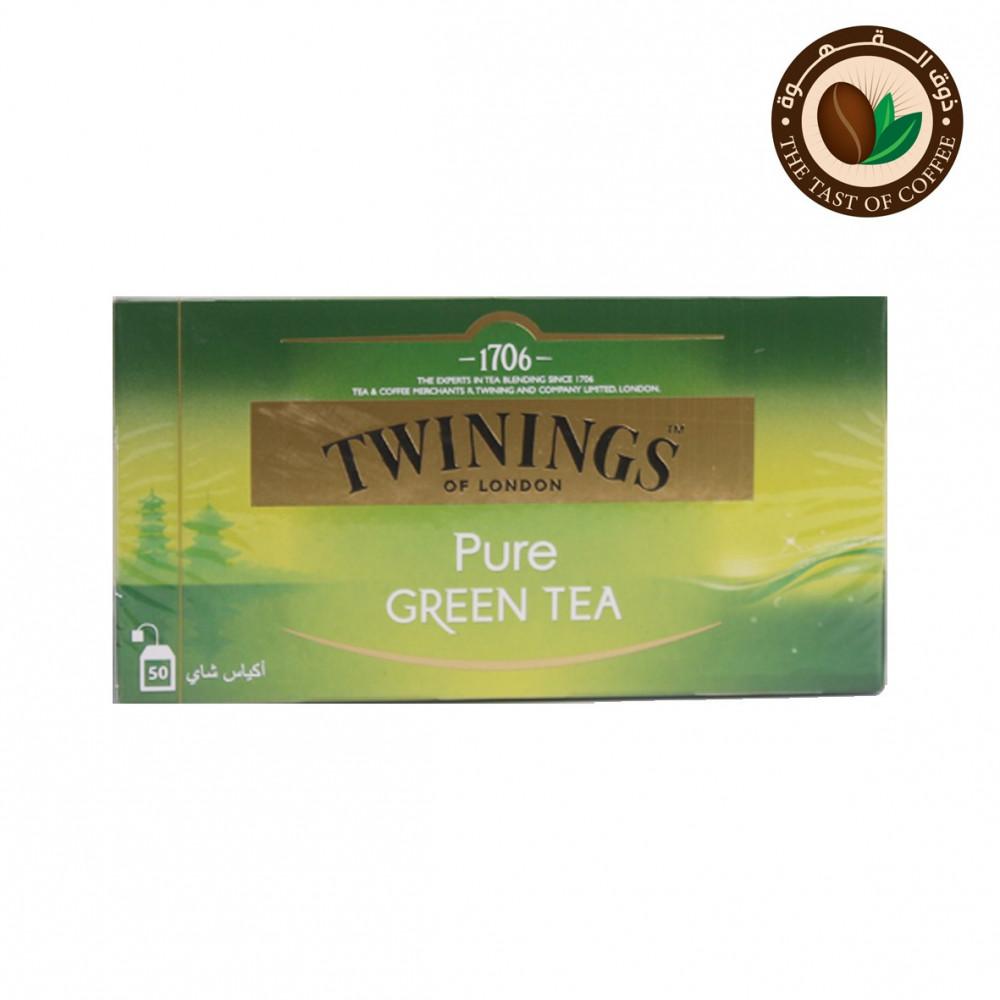 شاي توينجز اخضر