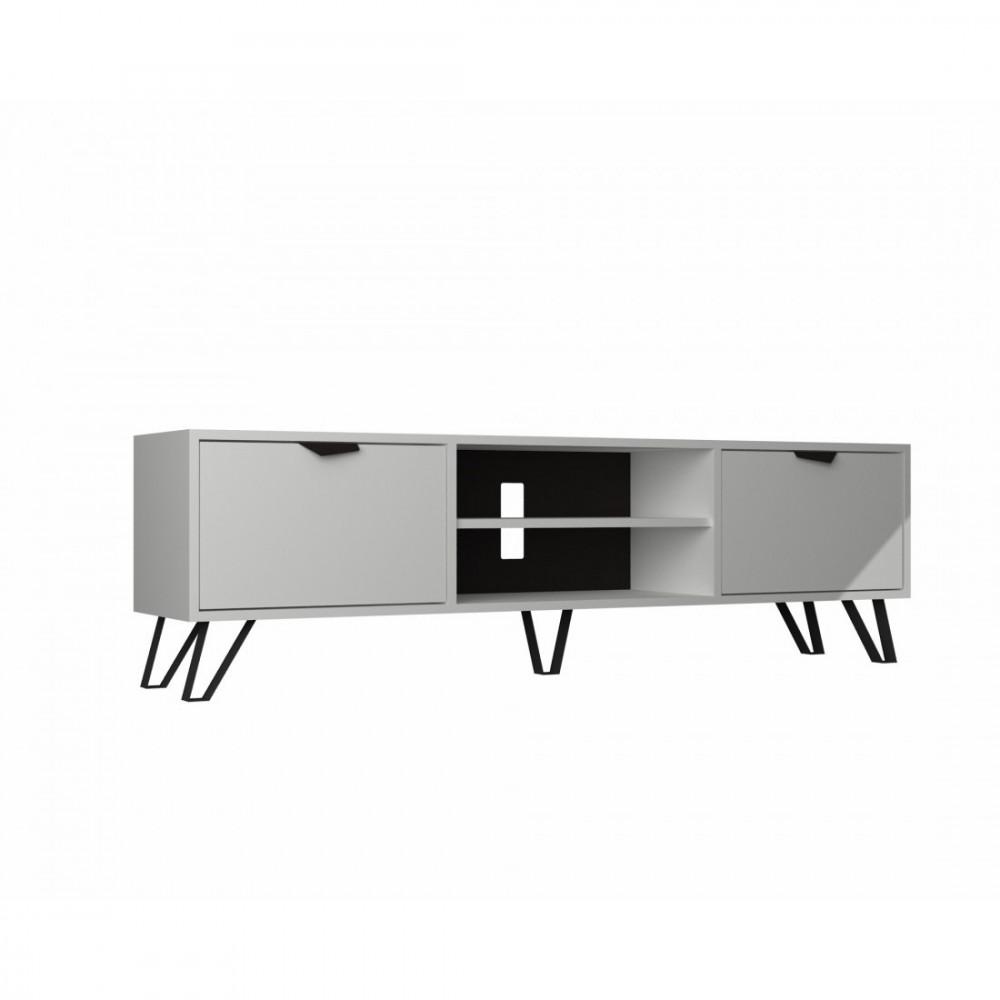 طاولة تلفاز أبيض
