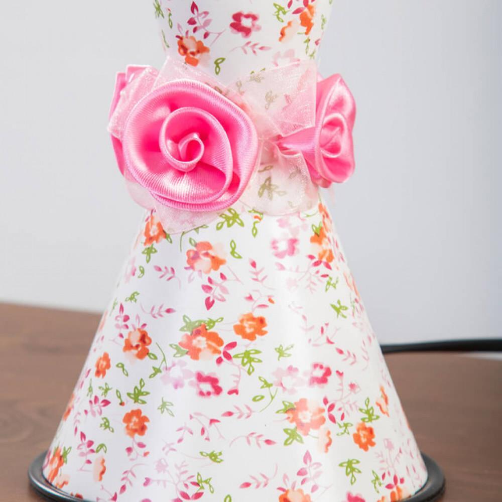 اباجورة اطفال برسومات أزهار  بناتي - فانوس