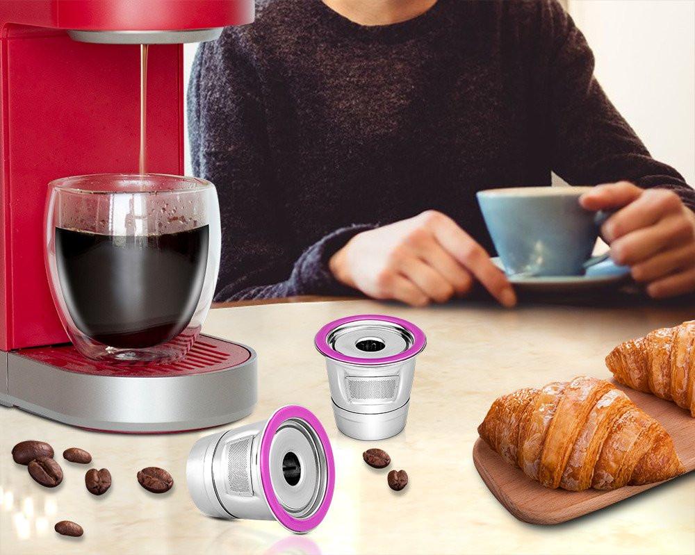 اسعار فلتر قهوة حديد مع ملعقة وفرشاة تنظيف - متجر النافذة الأولى