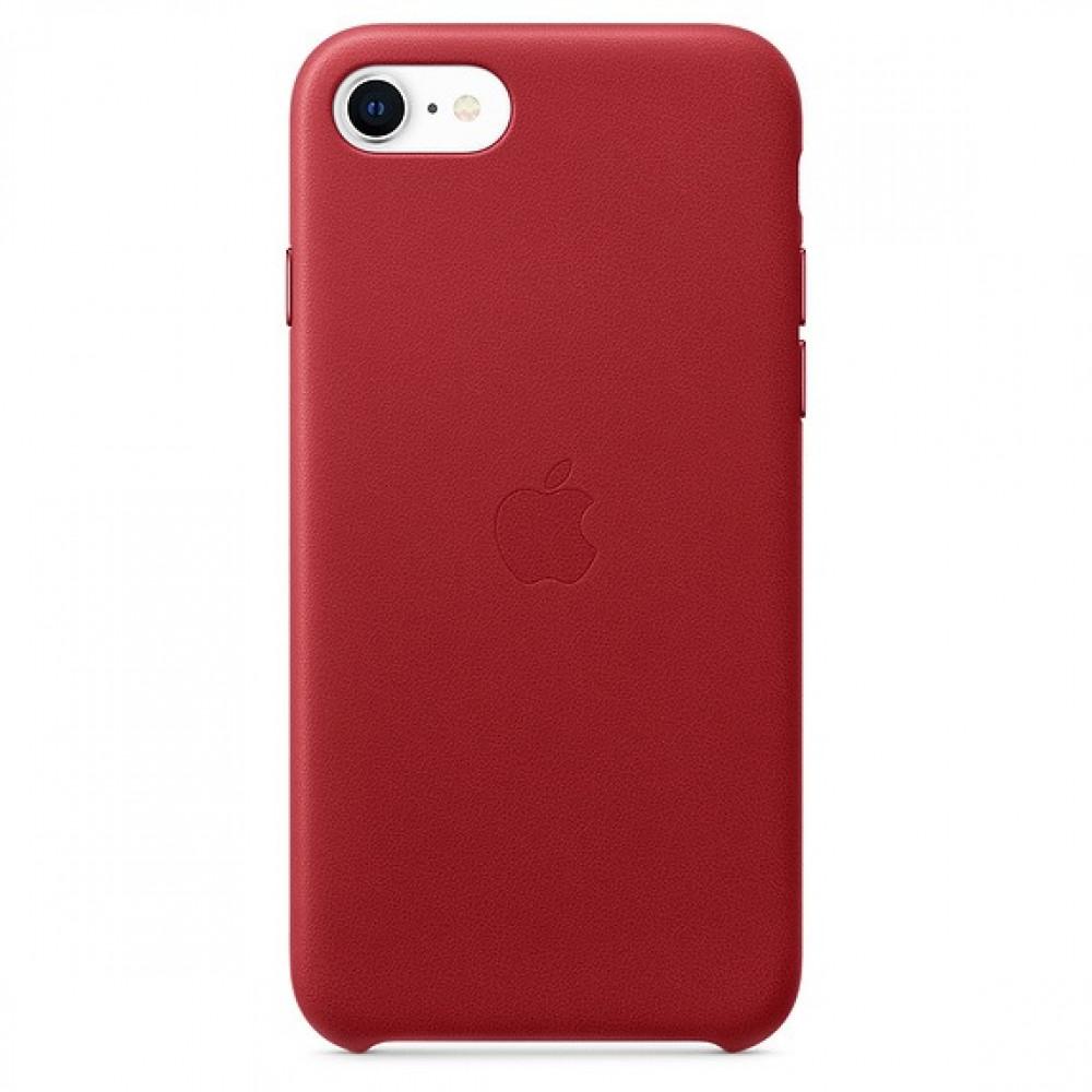 كفر ايفون 8 جلد احمر