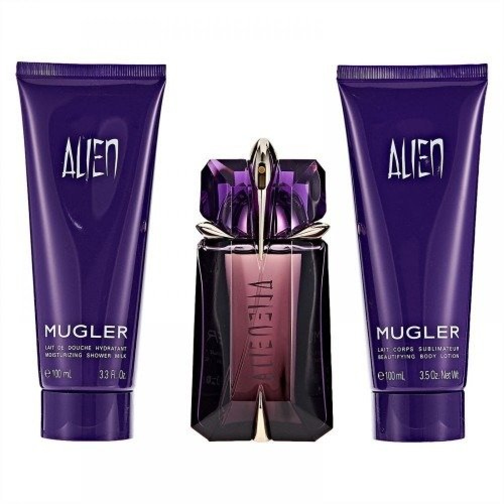 Mugler Alien Eau de Parfum 60ml 3 Gift Set متجر خبير العطور