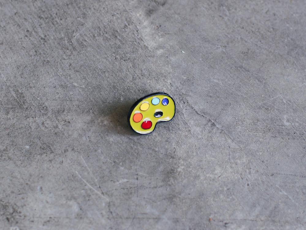 بروش باليت ألوان pins لرسامين