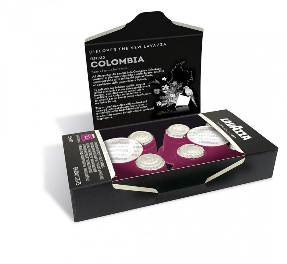 اسبريسو كولومبيا قهوة لافازا نسبريسو