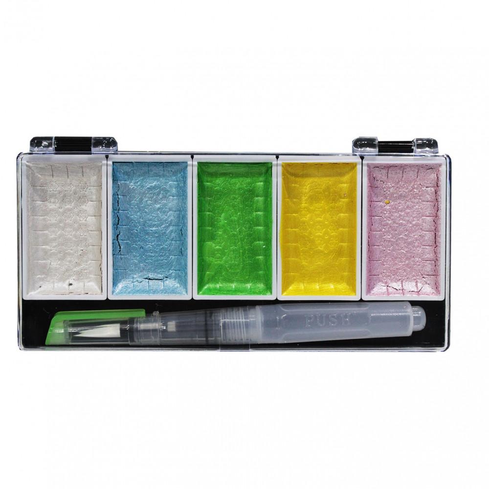الوان مائية علبة اسود 5 لون سوبريور مكتبة الصفار