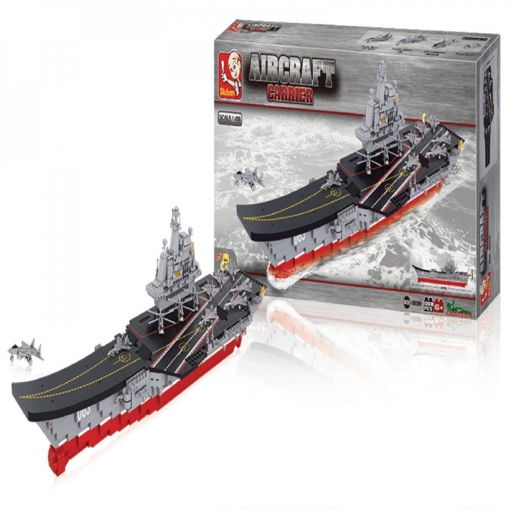سلوبان, قطع تركيب بلاستيك, Toys, Sluban, ألعاب, Aircraft Carrier