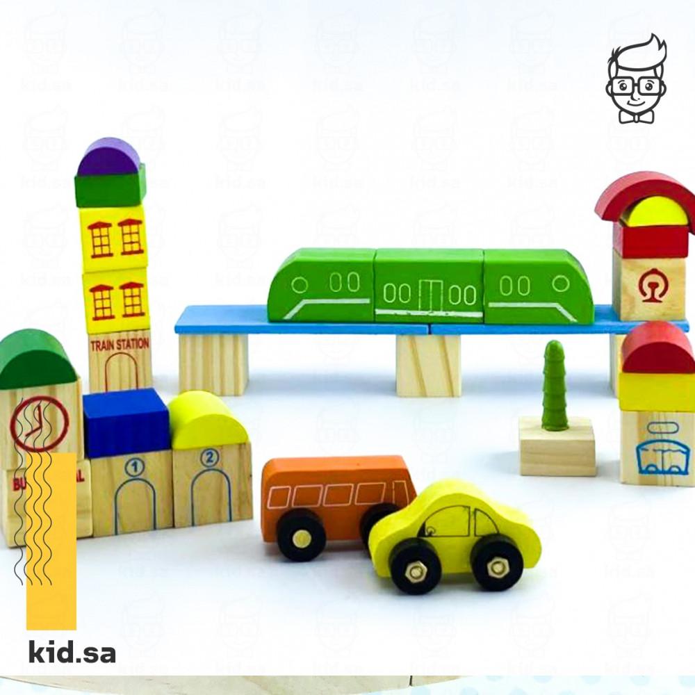 العاب تنمية مهارات خشبية للاطفال