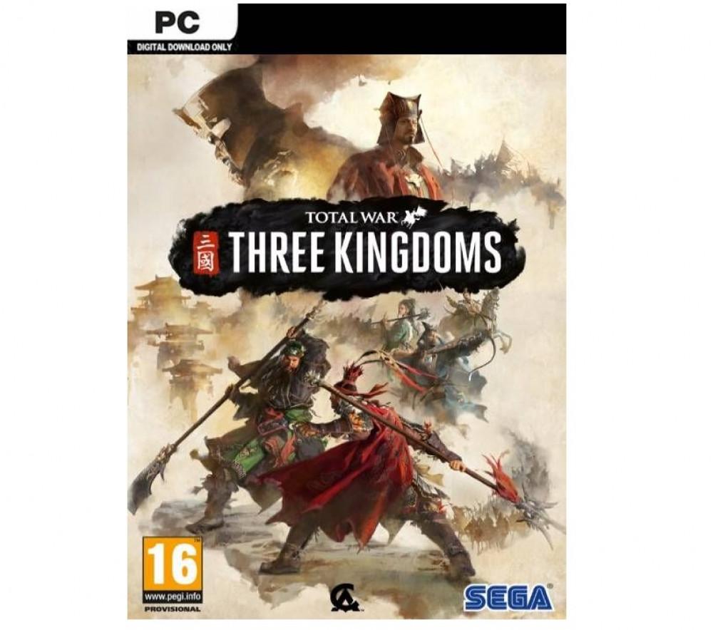 لعبة Total war three kingdoms للكمبيوتر كود على ستيم مفتاح اوروبي اصلي