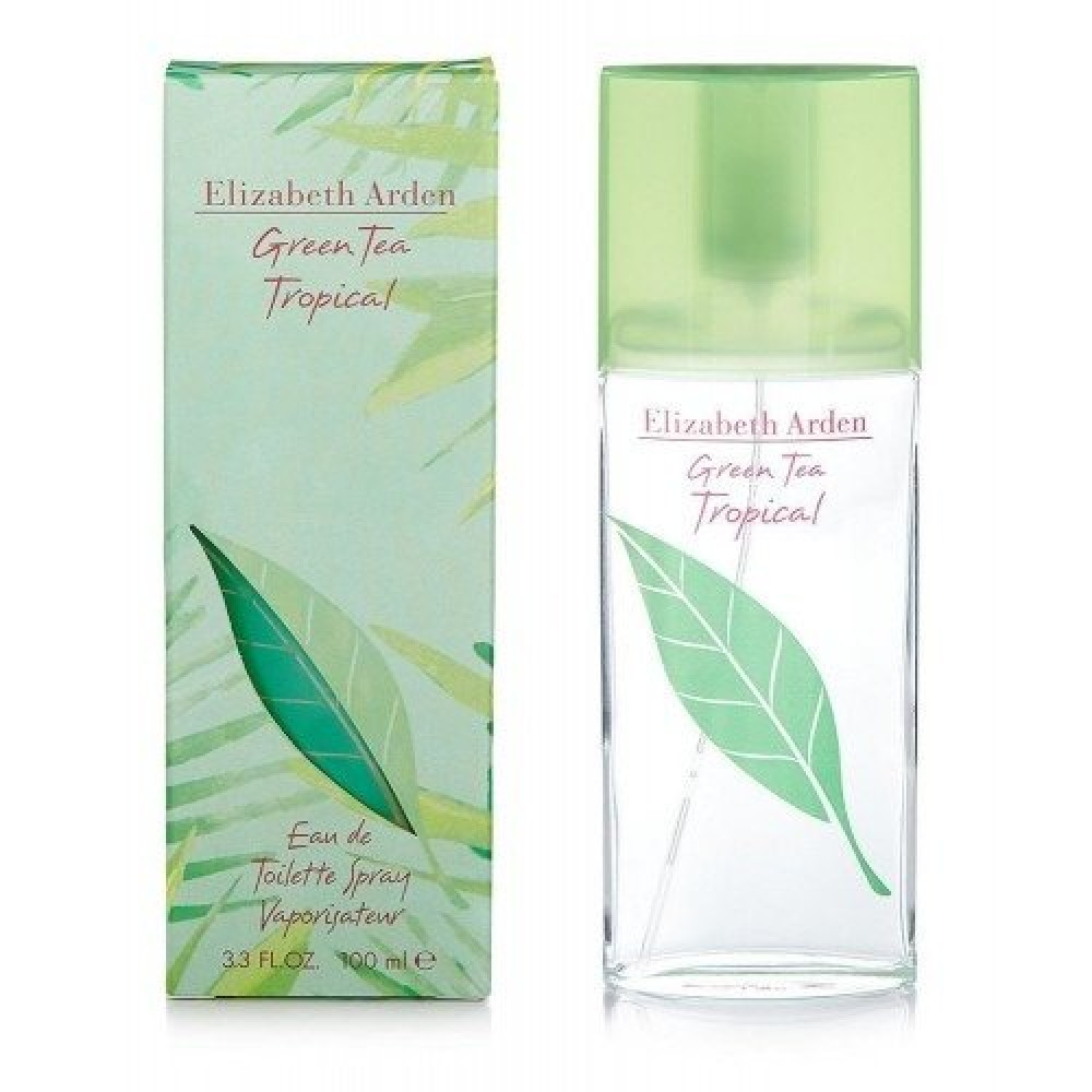Elizabeth Arden Green Tea Tropical Eau de Toilette 100ml خبير العطور