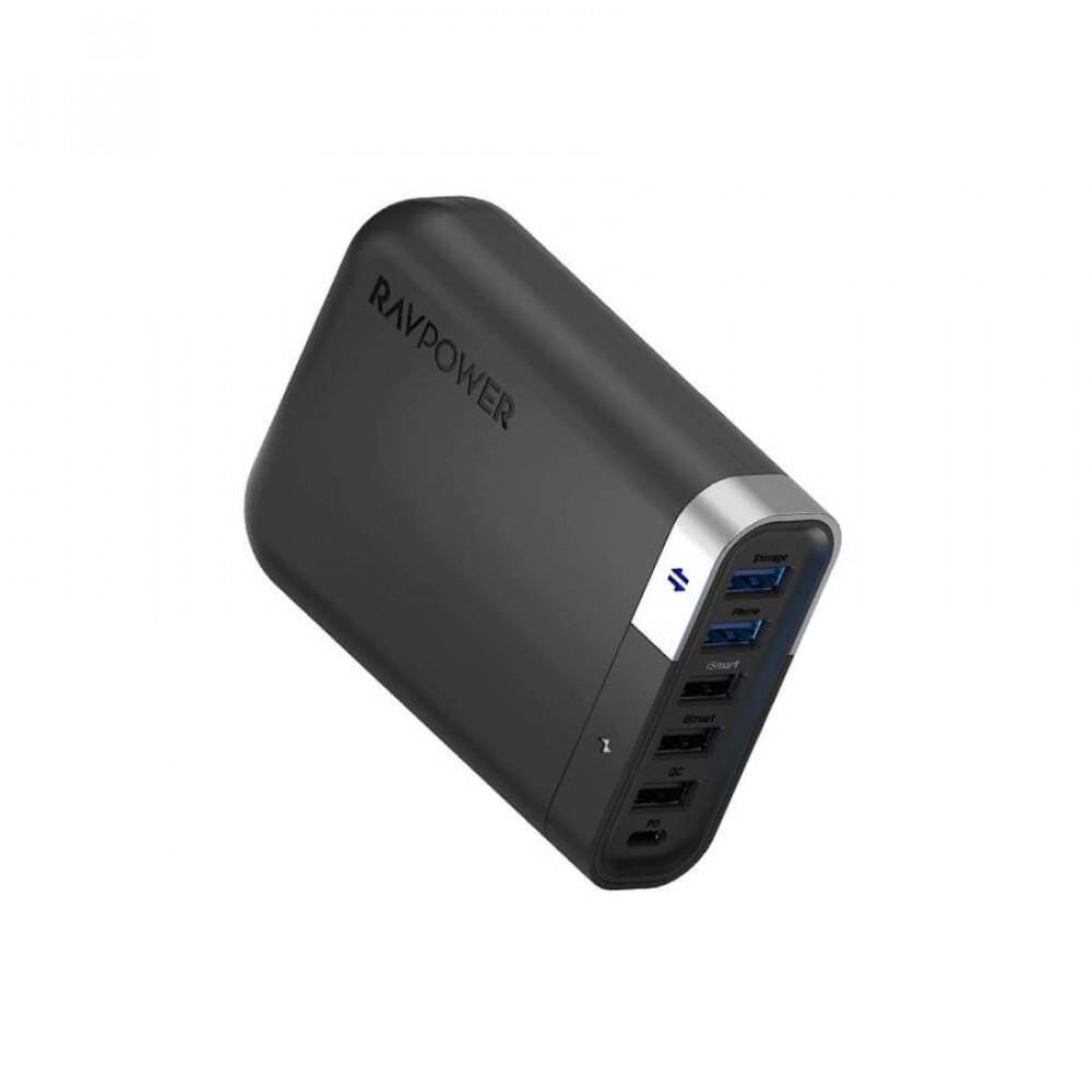 Filehub 60W USB-C Charger with 6-Port Model UM002