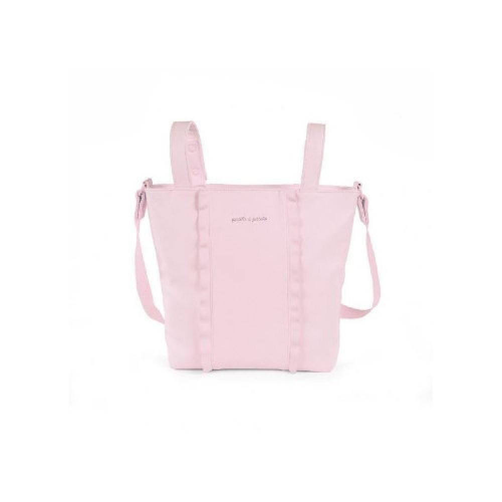 حقيبة يد باللون الزهري من ماركة Pasito A Pasito