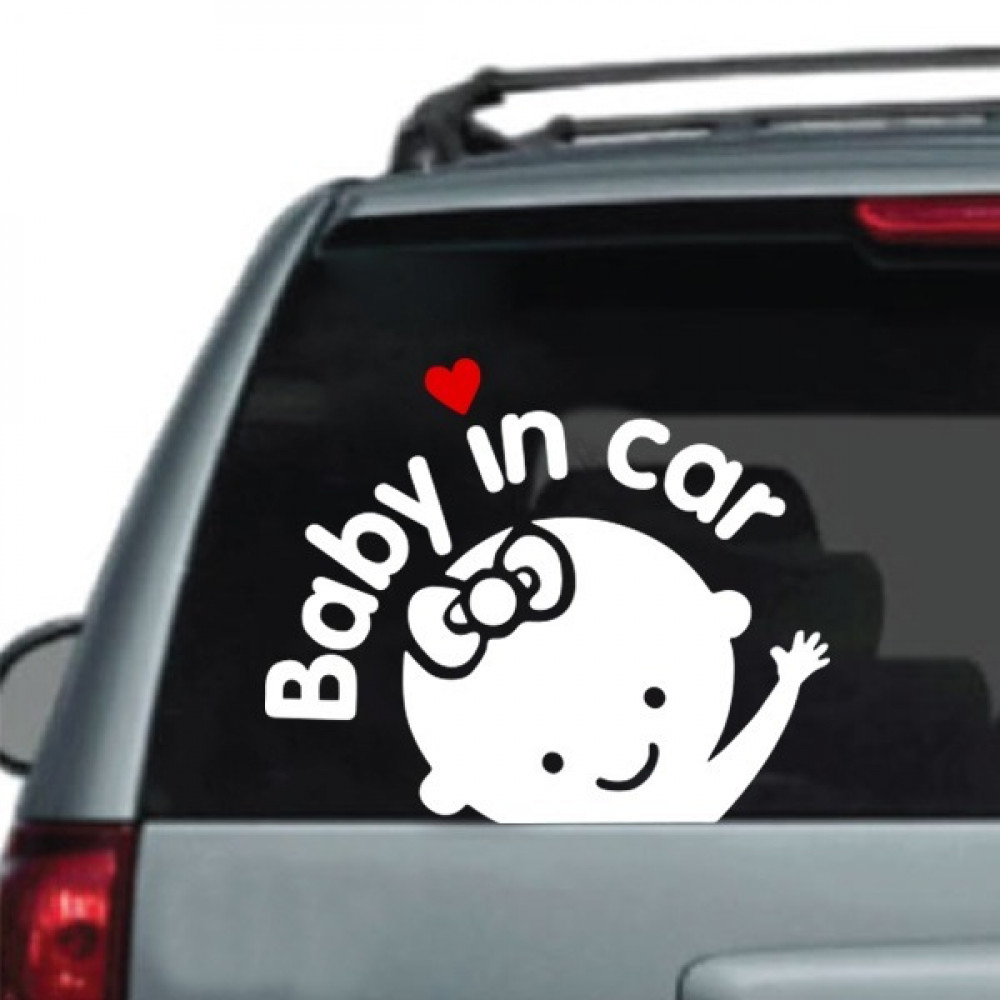 ملصق BABY IN CAR