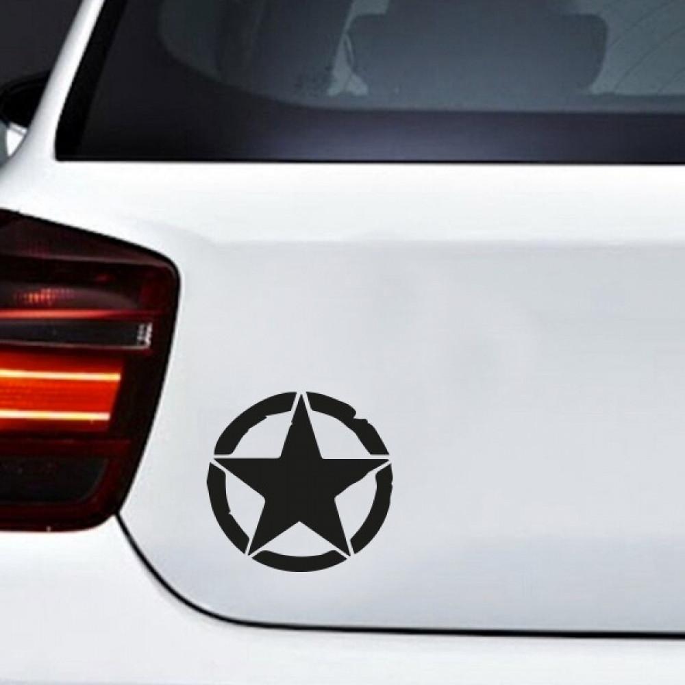 استيكر سيارة النجمة