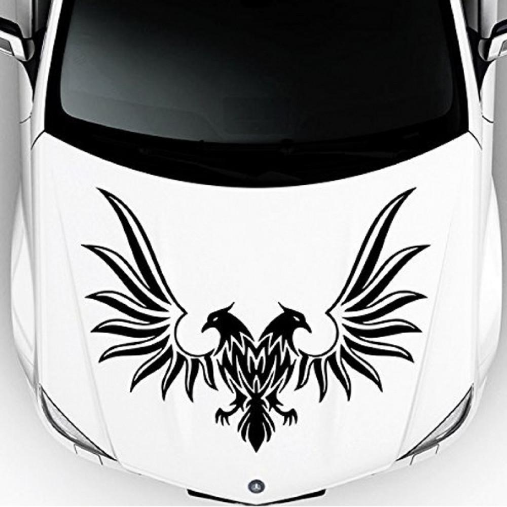 استيكر شعار الطير على السيارة