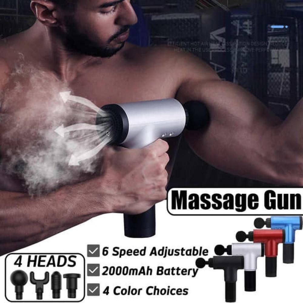 طقم مسدس تدليك العضلات