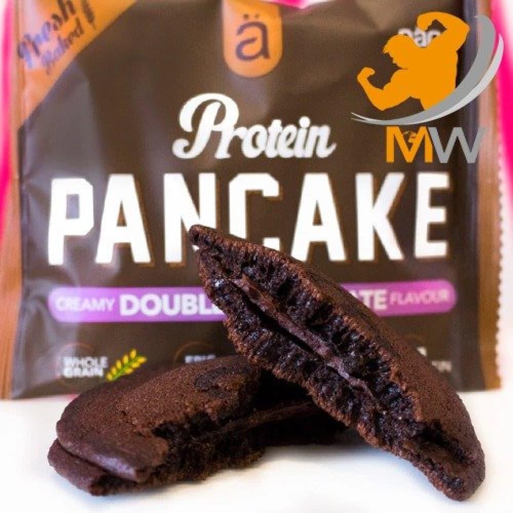 نانو بانكيك بالبروتين دبل شوكولاته NANO Pancake عالم العضلات muscles w