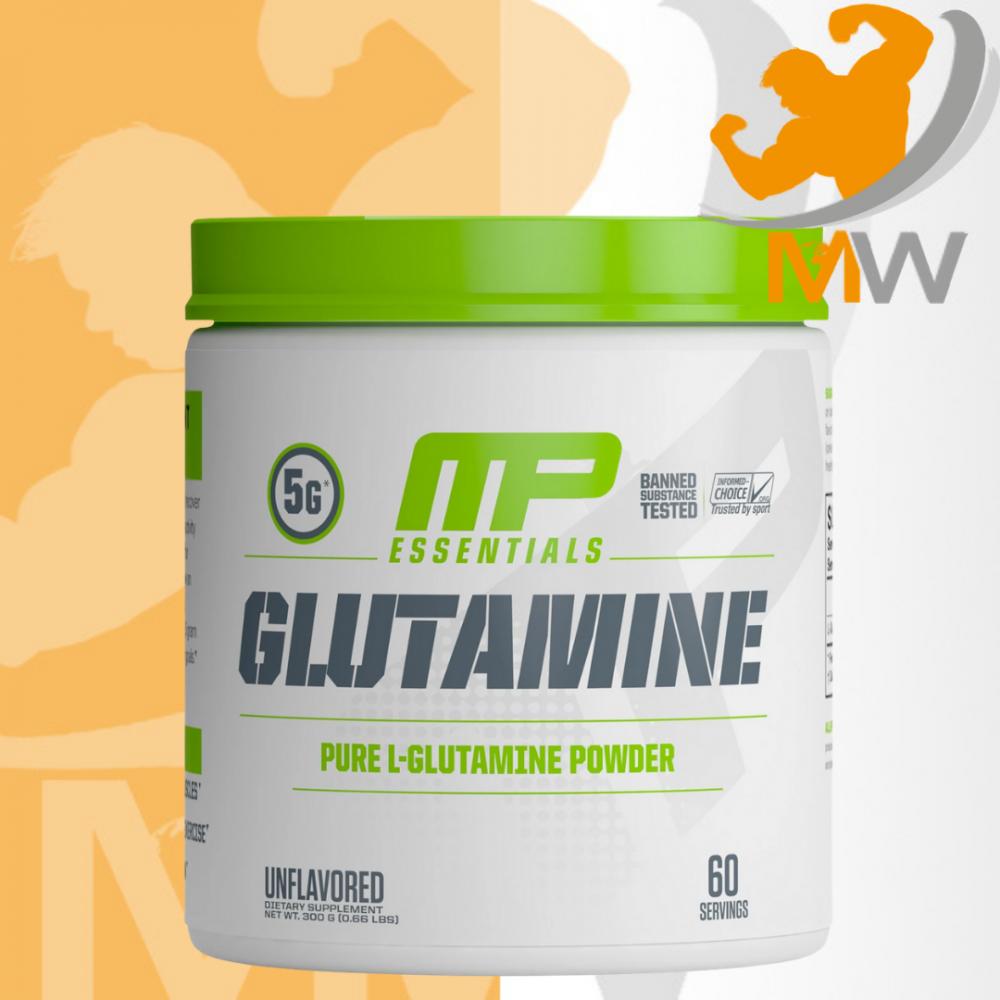 عالم العضلات muscles world مكملات غذائية جلوتامين mp glutamine