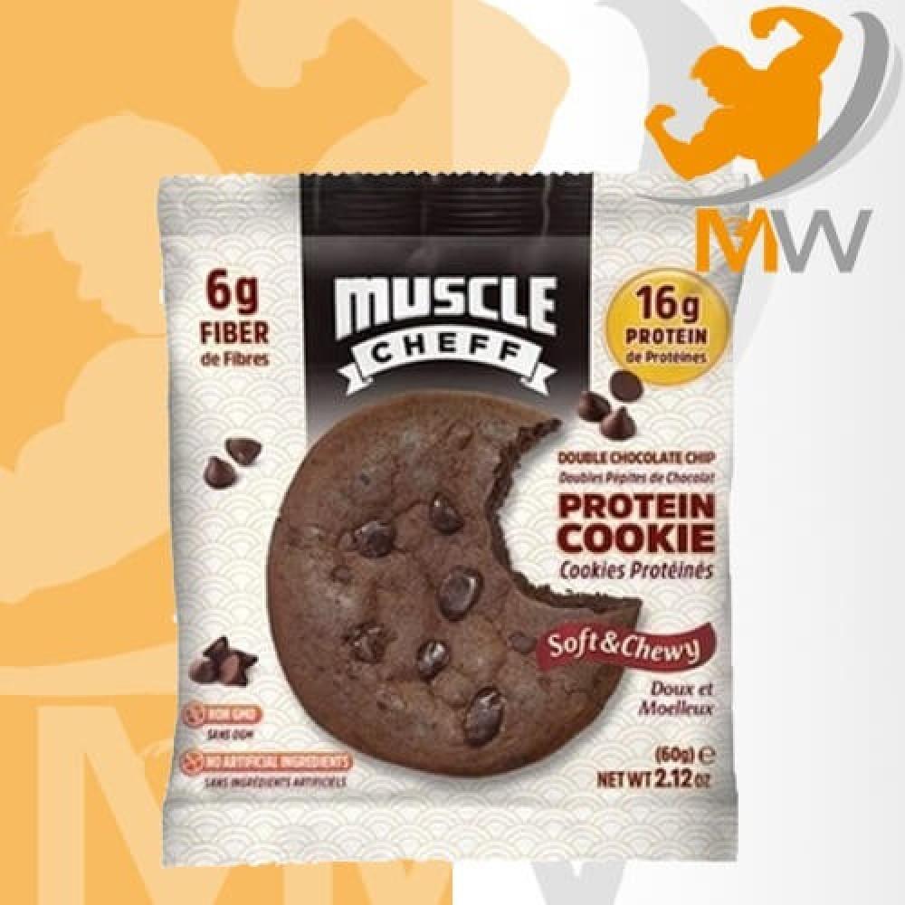 مصل شيف بروتين كوكيز دبل شوكولاته 60 غرام