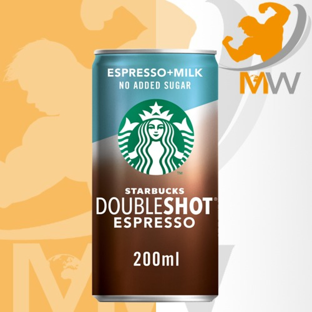 ستاربكس اسبريسو حليب بدون سكر مضاف 200مل Starbucks