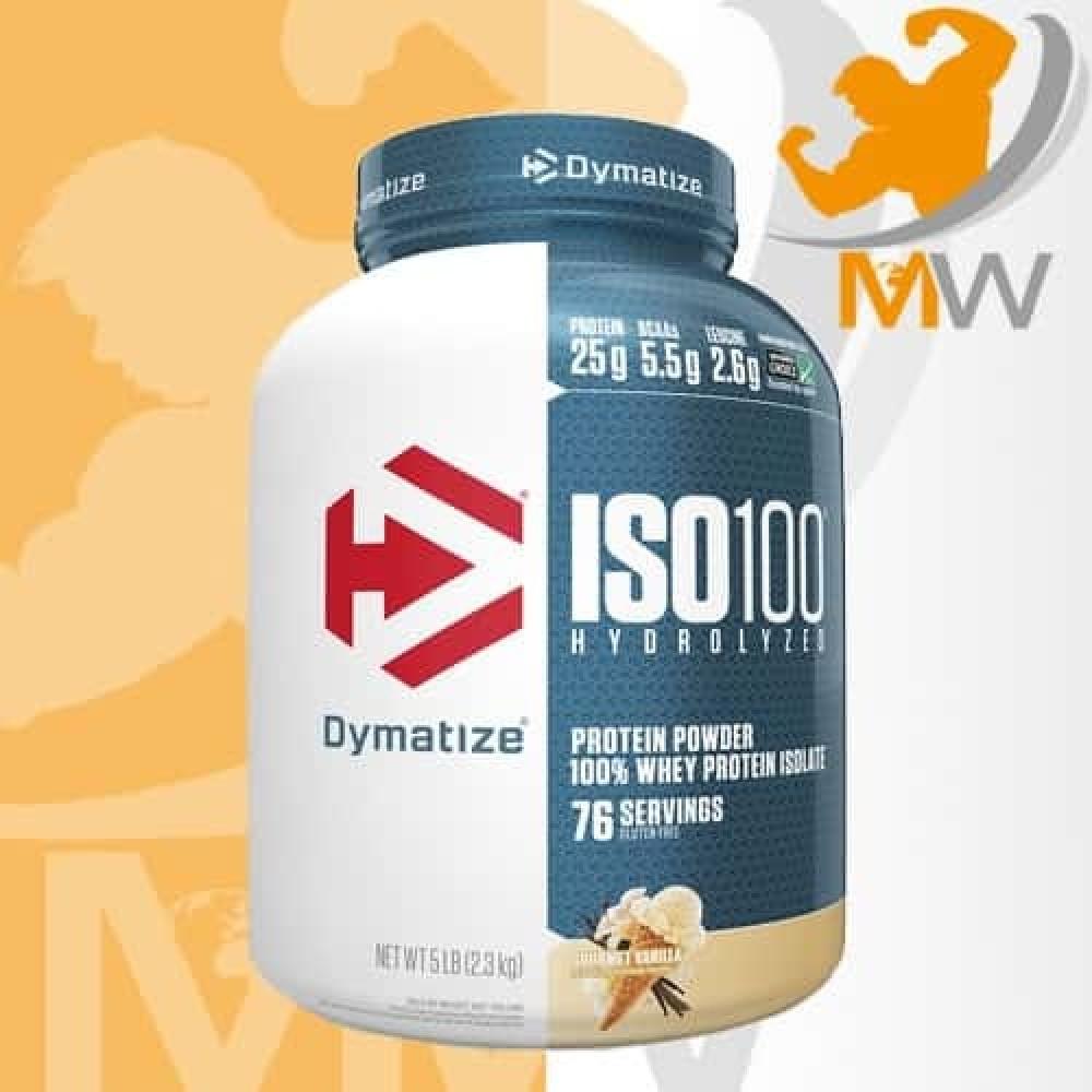 أيزو 100 فانيلا 5 باوند  ISO 100 Vanilla عالم العضلات muscles world مك