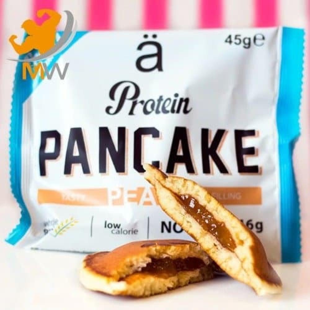 نانو بانكيك بالبروتين خوخ جام NANO Pancake عالم العضلات muscles world