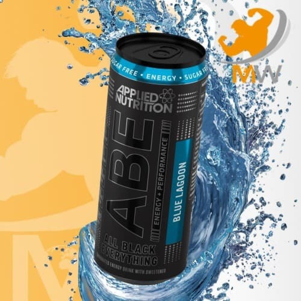 ابلايد مشروب الطاقة توت ازرق 330 مل عالم العضلات muscles world مكملات
