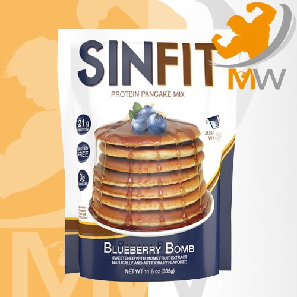 عالم العضلات مكملات غذائية مخبوزات سنيستر لاب بانكيك بروتين زبدة الحلي