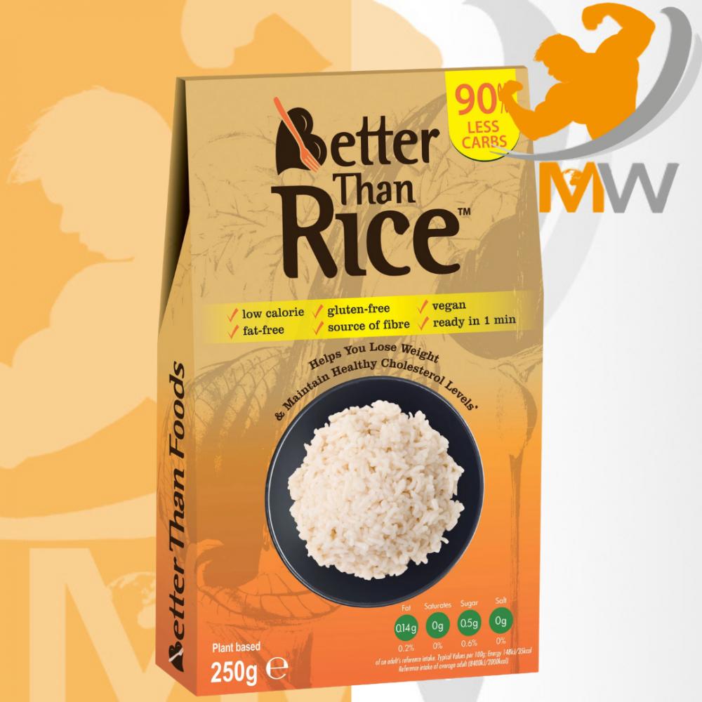 عالم العضلات مكملات غذائية مكرونة رز أرز بيتر ذان نودلز Better Than