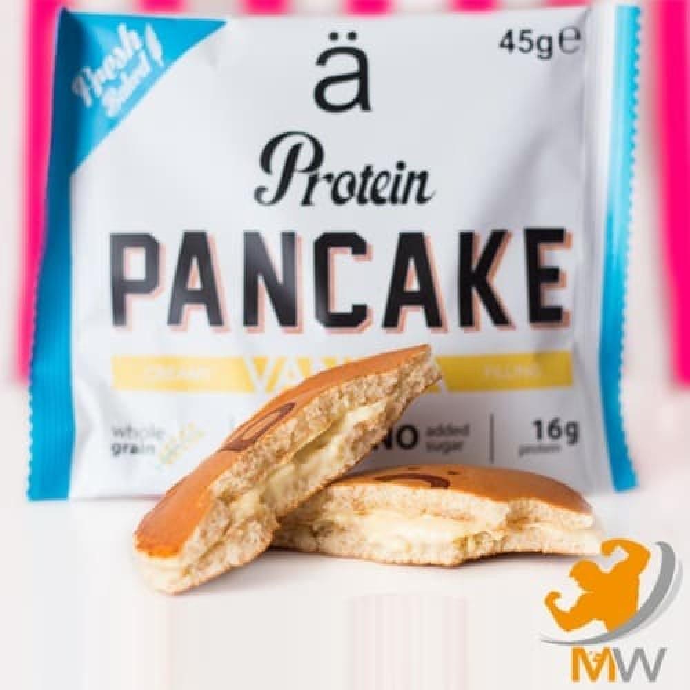 نانو بانكيك بالبروتين فانيلا NANO Pancake عالم العضلات muscles world م