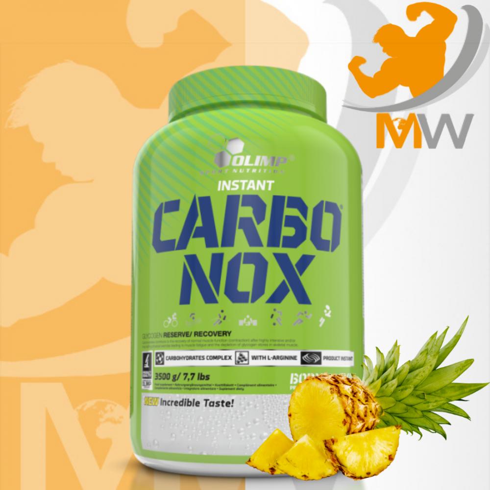 عالم العضلات muscles world مكملات غذائية كربوهيدرات carbo nox