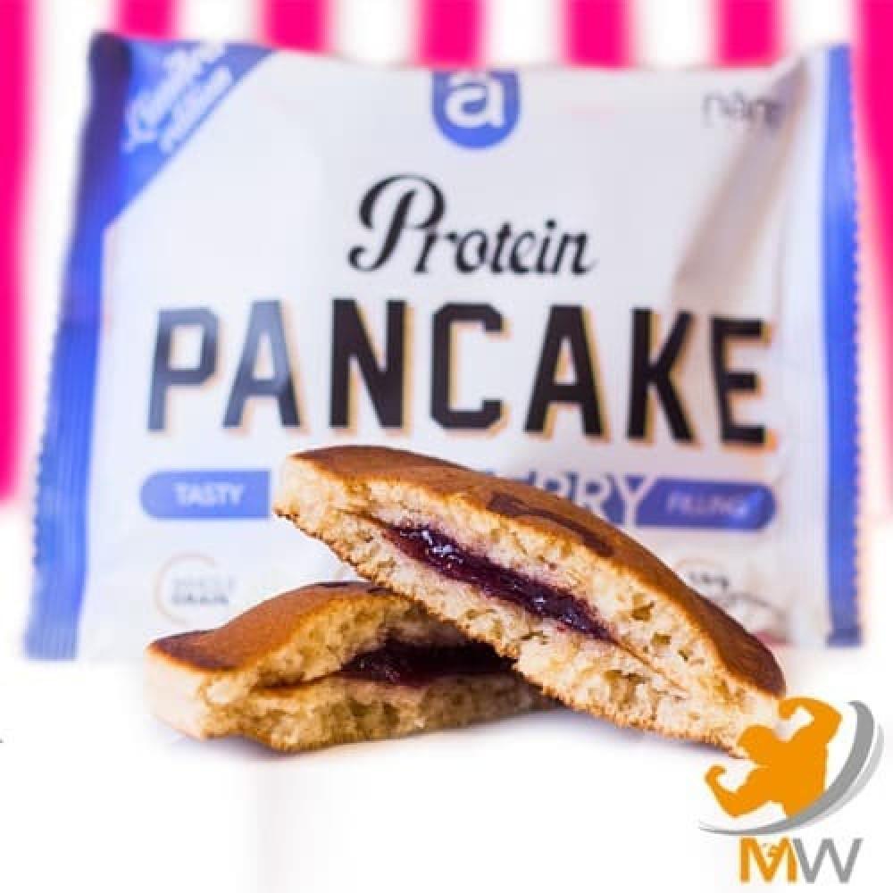 نانو بانكيك بالبروتين توت أزرق NANO Pancake عالم العضلات muscles world