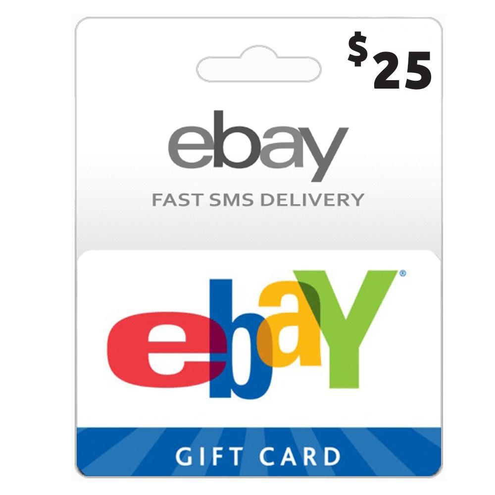 بطاقات مسبةق الدفع ebay