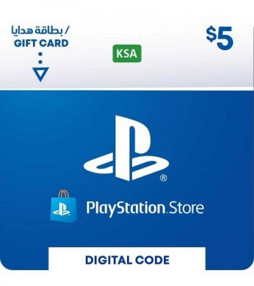 بطاقة 5 دولار سوني سعودي