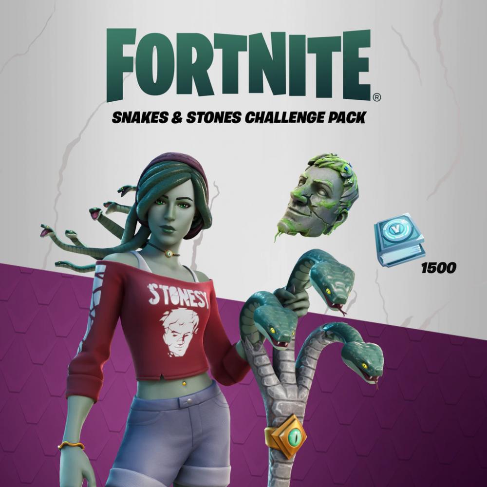 حزمة Snakes and Stones Challenge Pack