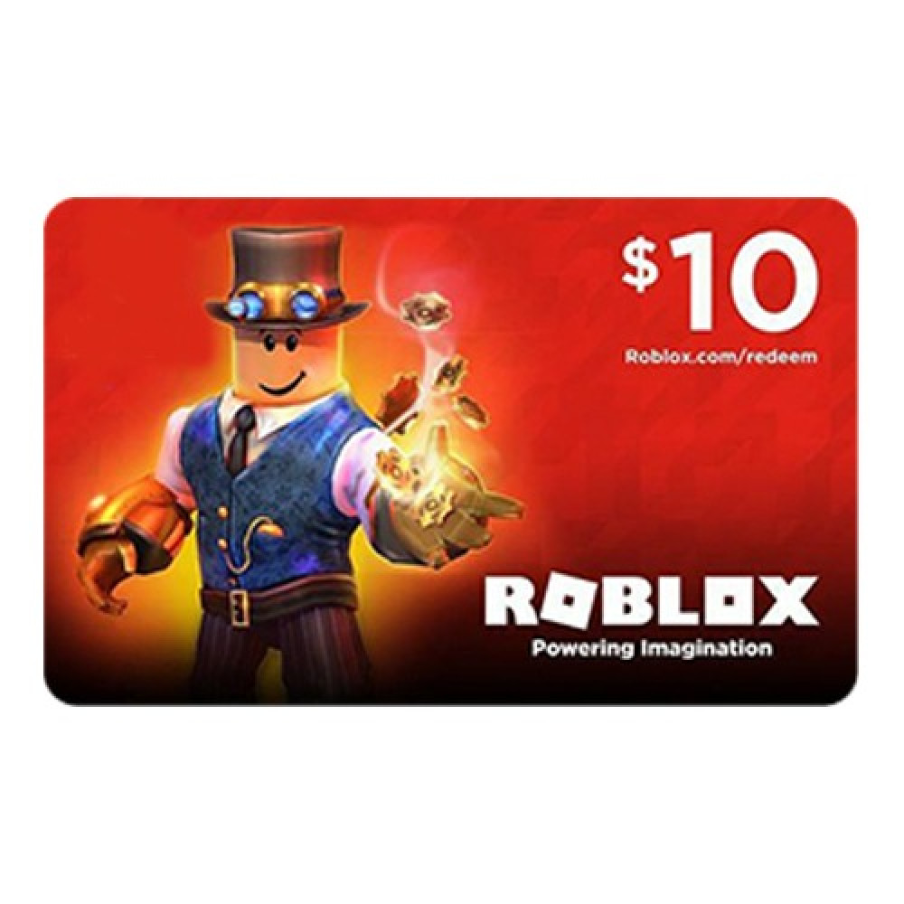 شحن روبلوكس 10 دولار