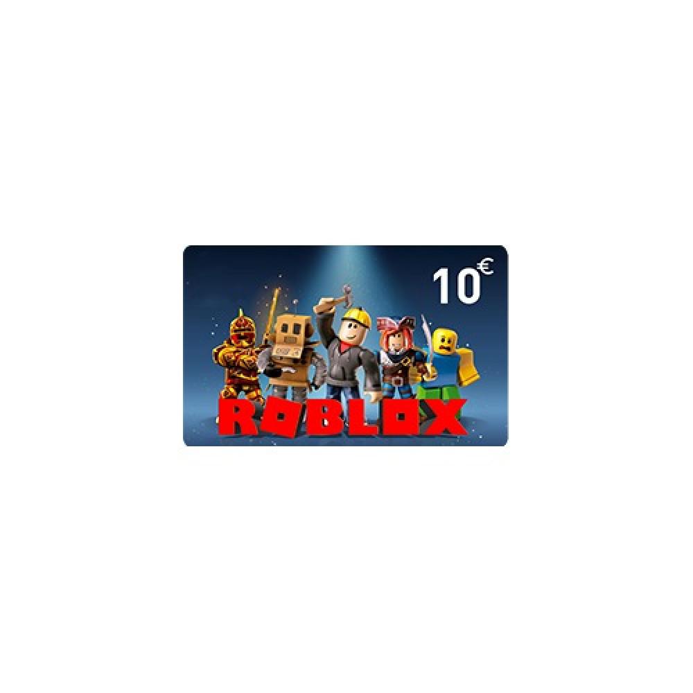 بطاقة شحن روبلوكس 10 يورو اوروبي