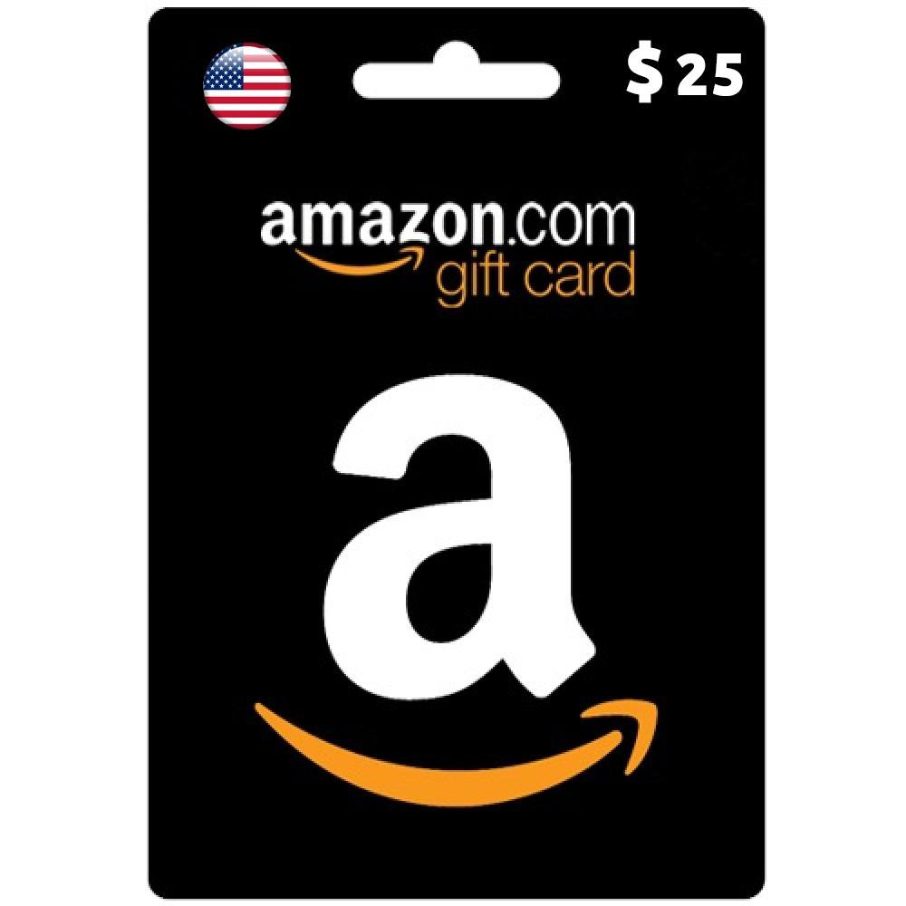 25 دولا امريكي امازون بطاقة تسليم سريع