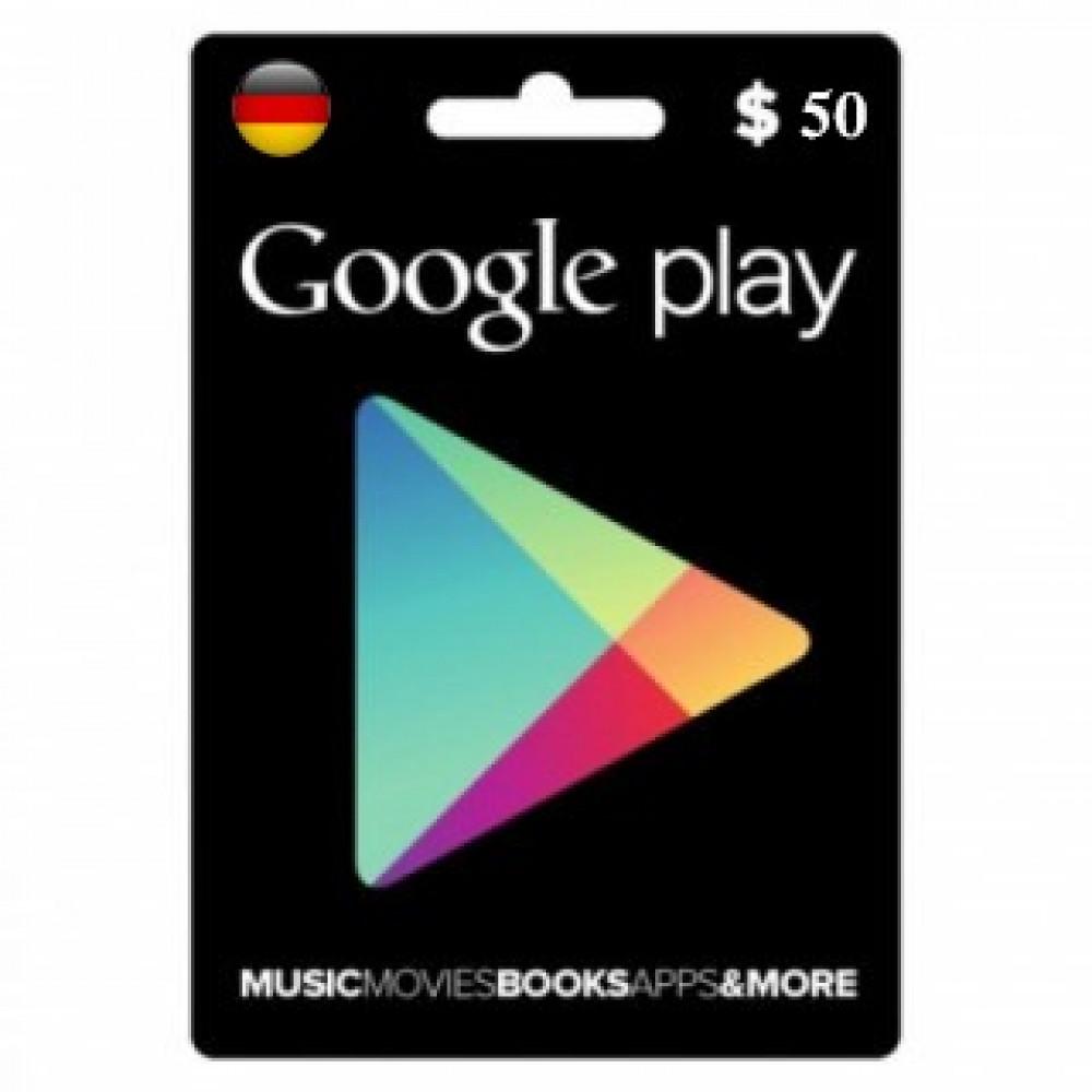 جوجل 50 يورو ألماني
