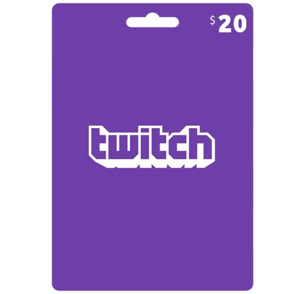 بطاقات تويتش