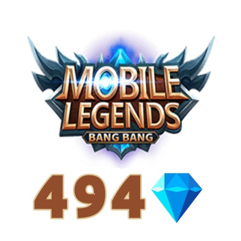 شحن 494 جوهرة لعبة موبايل ليجيندز