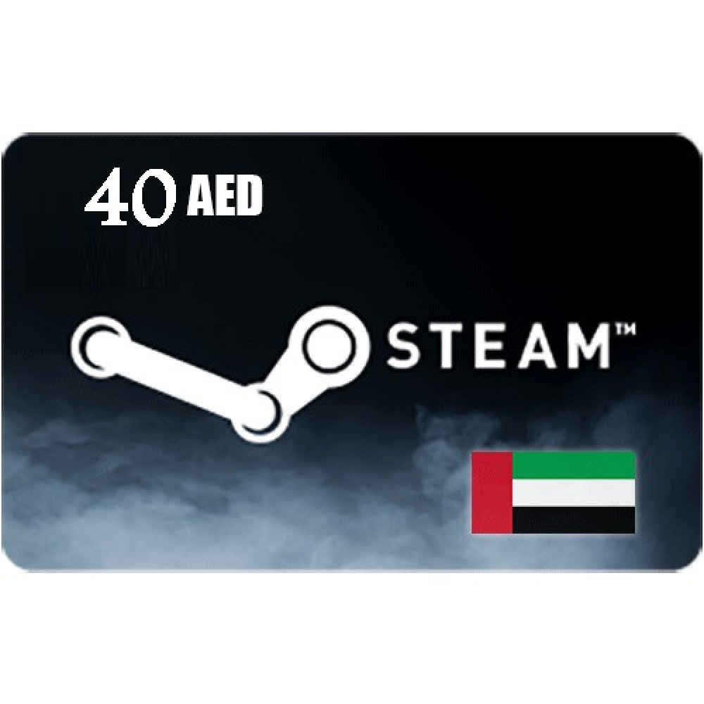40 steam aed gıft card