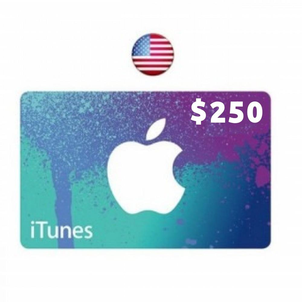 ايتونز بطاقة دفع مسبقة امريكية