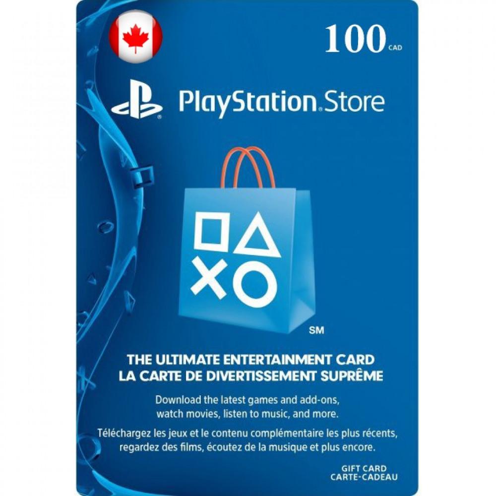 100 دولار كندي بلايستيشين