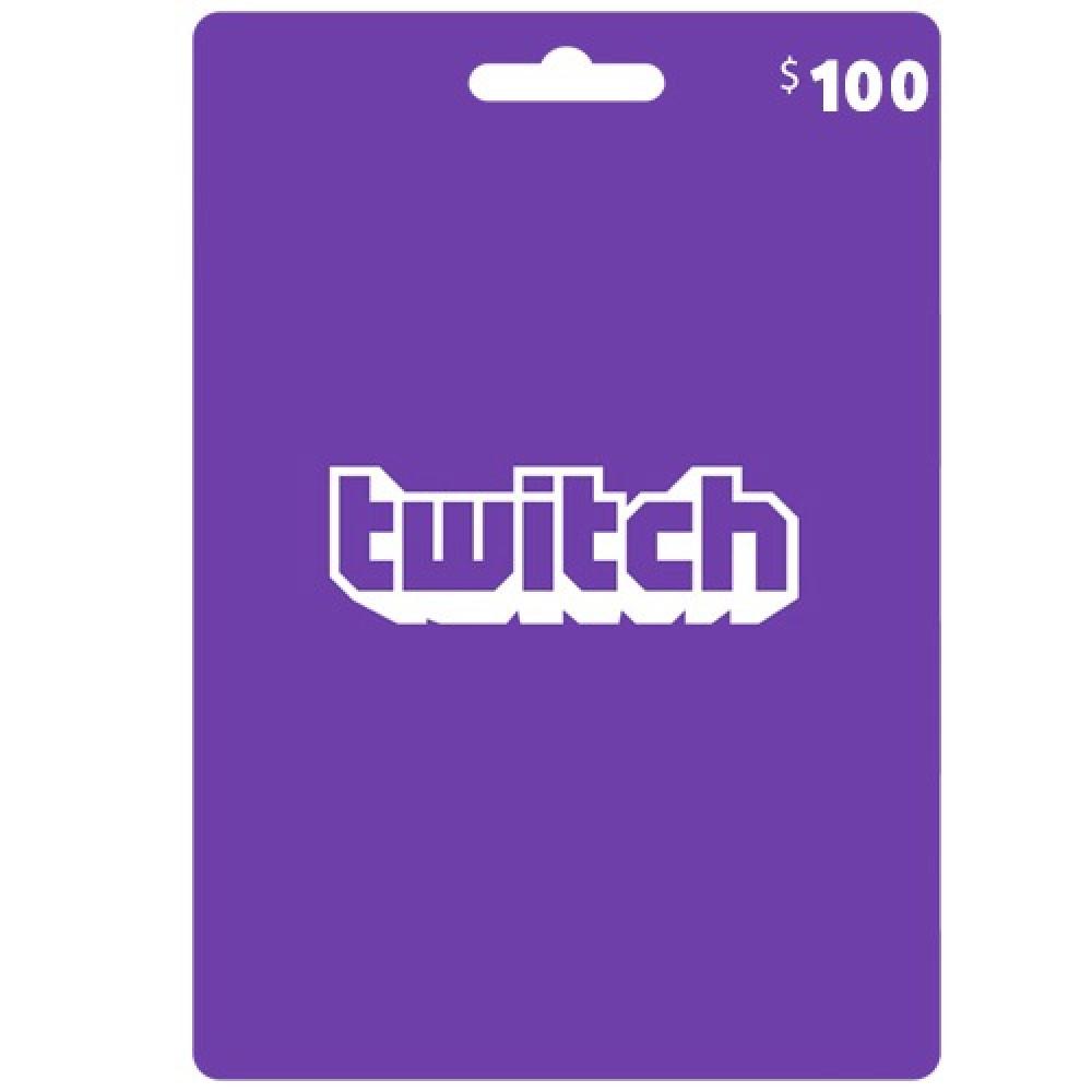 100 دولار منصة تويتش