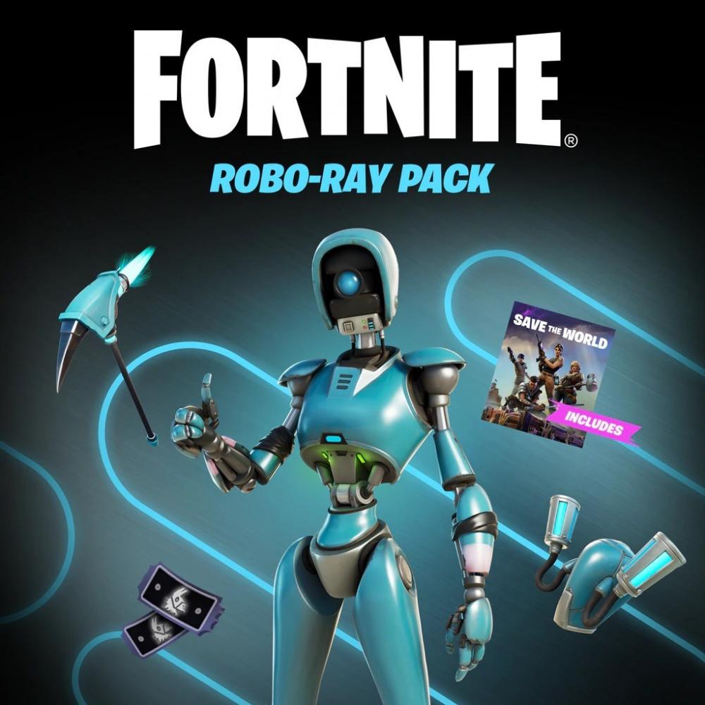 حزمة Robo-Ray Pack للعبة فورت نايت