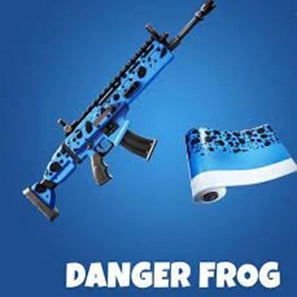 حزمة Danger Frog Weapon Skin