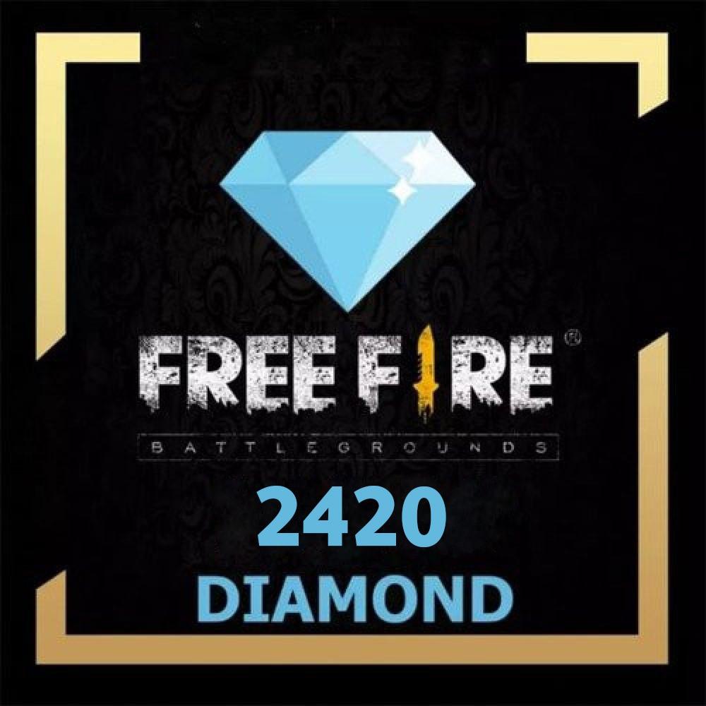 شحن freefire 2420 جوهرة