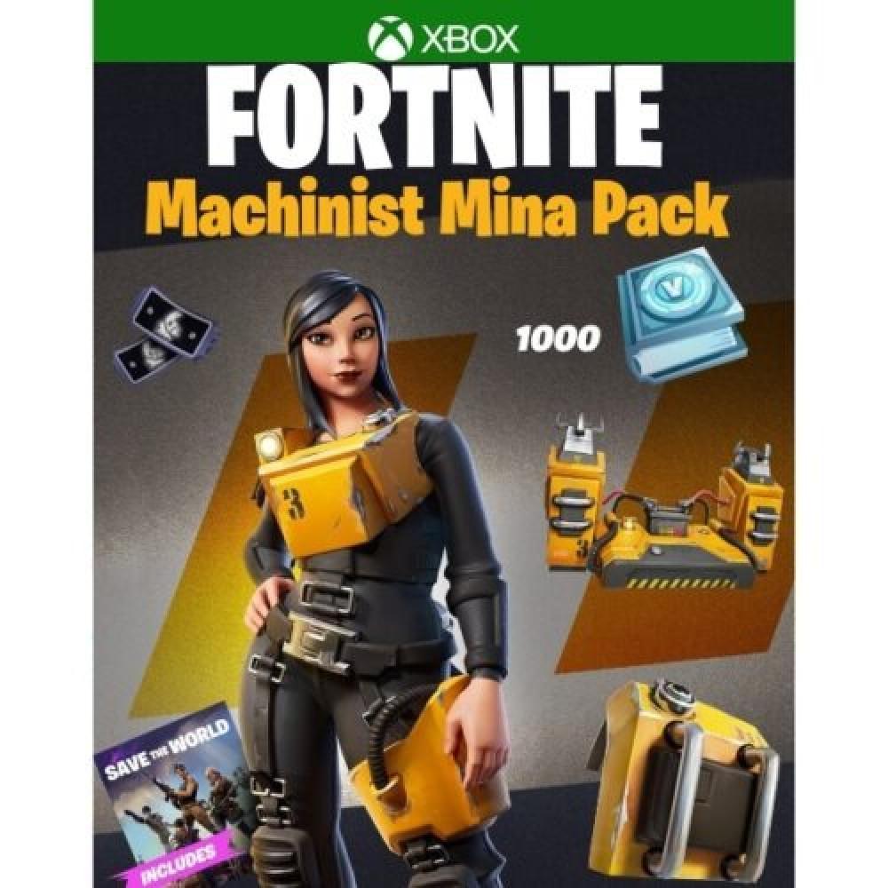 فورت نايت Machinist Mina Pack