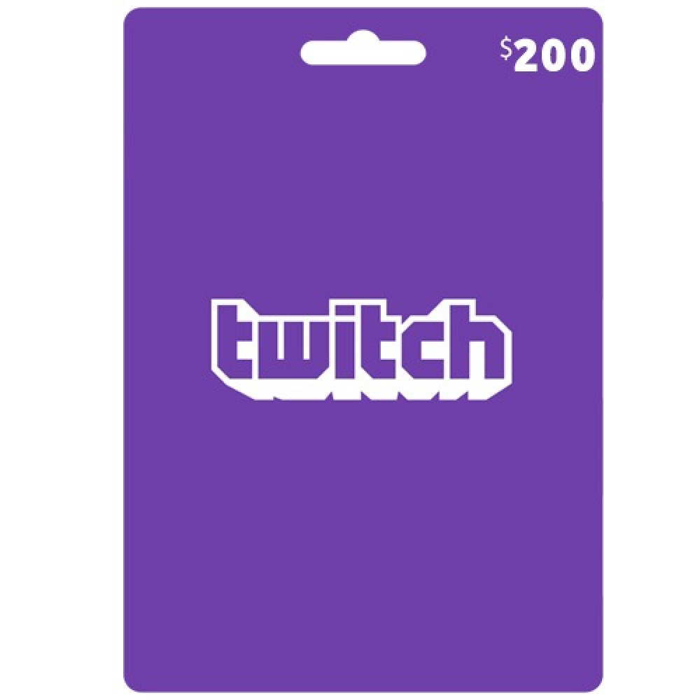 تويتش gift card